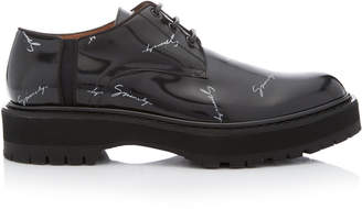 Givenchy Camden Printed Leather Derby Shoes