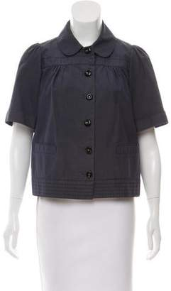 See by Chloe Short Sleeve Crop Jacket