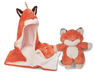 Bunnies by the Bay Blanket & Stuffed Animal Set