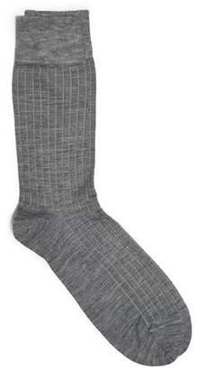 Corgi Solid Grey Socks