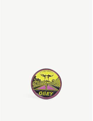 Obey Mushroom cloud pin