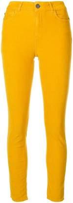 Twin-Set skinny corduroy trousers