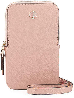 Kate Spade Polly Leather Crossbody Phone Bag