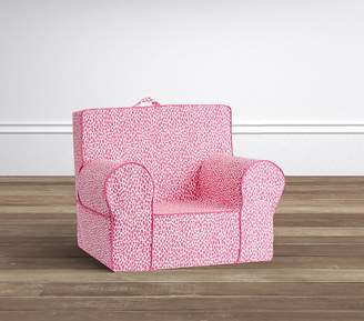 ... Pottery Barn Kids Bright Pink Dalmation Dot My First Anywhere Chair®  Slipcover Only