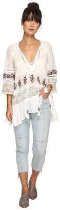 Free People You're Mine Peasant Tunic $168 thestylecure.com