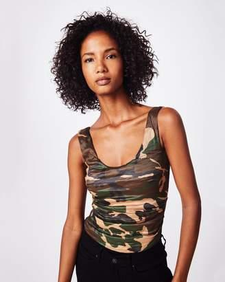 Nicole Miller Camouflage Technometal Bodysuit