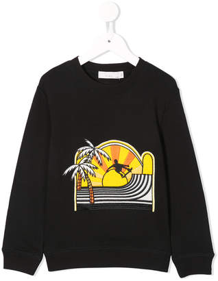 Stella McCartney skateboard patch sweatshirt