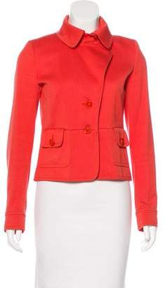 Chloé Long Sleeve Notch-Lapel Jacket