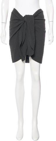 Isabel MarantIsabel Marant Asymmetrical Knee-Length Skirt