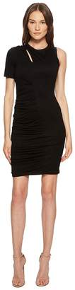 Yigal Azrouel One Sleeve Dress with Rouching Women's Dress