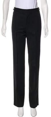 Gucci Mid-Rise Pinstripe Pants
