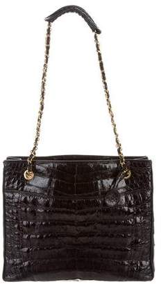 Chanel Crocodile Shoulder Bag
