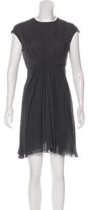 Rick Owens Silk Pleated Dress