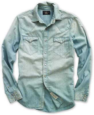 Ralph Lauren Buffalo Chambray Western Shirt
