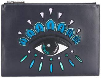 Kenzo A4 eye clutch