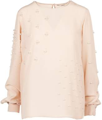 Stella McCartney Pearl-embellished Blouse