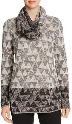 NIC and ZOE Starstruck Sweater & Scarf $168 thestylecure.com