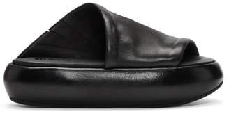 Marsèll Black Ciambellona Platform Sandals