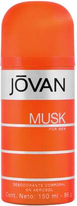 Jovan Musk By Deodorant Body Spray 5 Oz