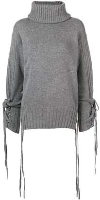 McQ roll-neck long sleeve sweater