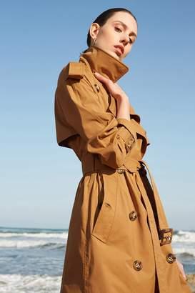 Rll / Studio Windbreaker Trench Coat