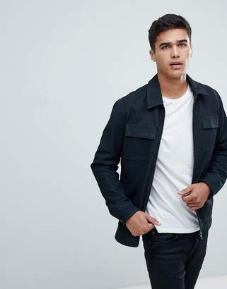 Selected Nubuck Premium Leather Jacket