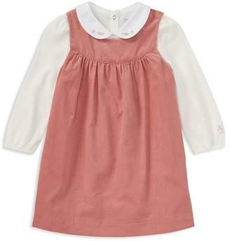 Ralph Lauren Girls' Bodysuit & Corduroy Dress Set - Baby