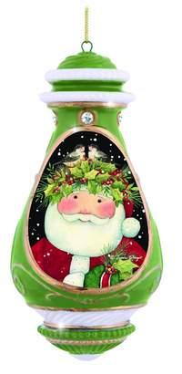 Precious Moments Santa Ornament