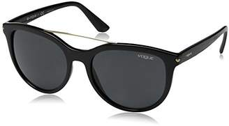Vogue Women's Injected Woman Round Sunglasses