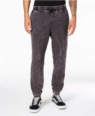 Punk Royal Men's Slim-Fit Acid Wash Jogger Pants