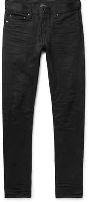 John Elliott The Cast 2 Skinny-Fit Coated-Denim Jeans