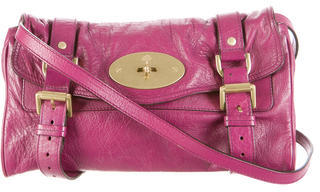 Mulberry Leather Buckle Crossbody $252 thestylecure.com