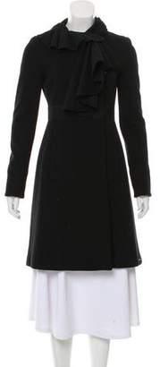 Diane von Furstenberg Souffle Wool-Blend Coat