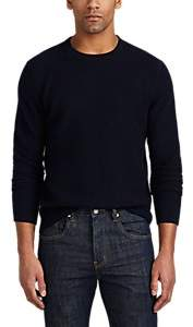 Barneys New York MEN'S WAFFLE-KNIT CASHMERE SWEATER