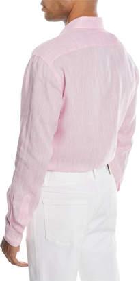 Brioni Linen Sport Shirt