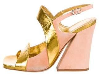 2b0534bd7e3d Dries Van Noten Leather Straps Sandals For Women - ShopStyle Australia