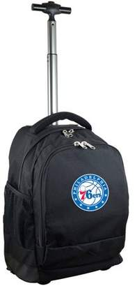 Denco Mojo Licensing Premium Wheeled Backpack - Philadelphia 76ers