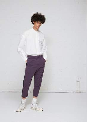 Robert Geller Bertrand Paper Cotton Pant