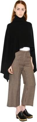 Rosetta Getty Wool & Cashmere Poncho