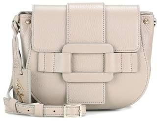 Roger Vivier Pilgrim de Jour leather shoulder bag