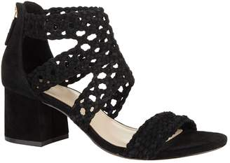 Sandro Suede Woven Sandals 60
