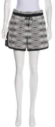 Public School Printed Mini Shorts