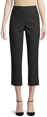 DKNY Women's Cropped Side Zip Pants