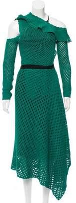 Proenza Schouler Cold Shoulder Knit Dress