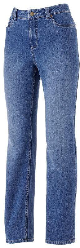 Croft and barrow slimming straight-leg jeans