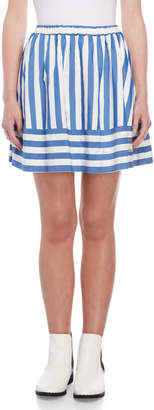 Love Moschino Stripe Skirt