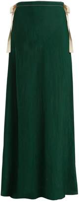 ON THE ISLAND Nevis self-tie maxi-skirt