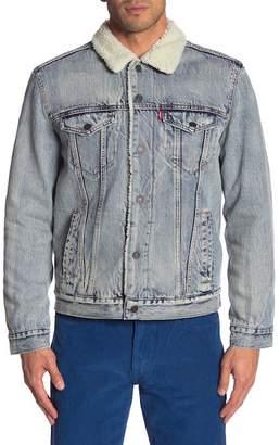 Levi's Faux Shearling Denim Jacket