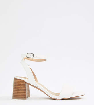 Asos Design DESIGN Tyrell Block Heeled Sandals
