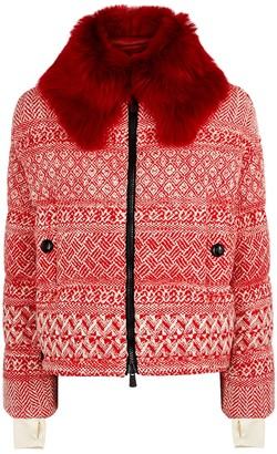 Moncler Siusi Fur-trimmed Shell Jacket